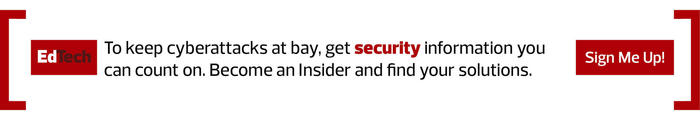 Higher Ed Insider security