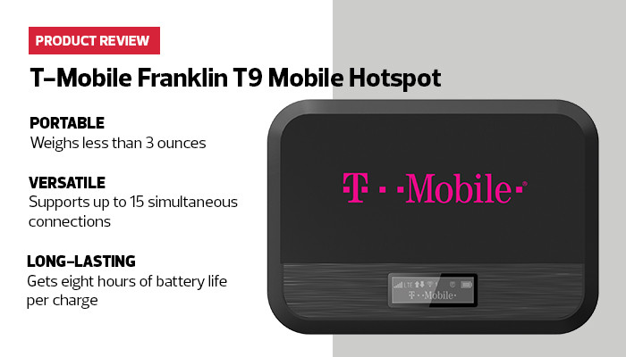 T-Mobile Franklin T9 Mobile Hotspot