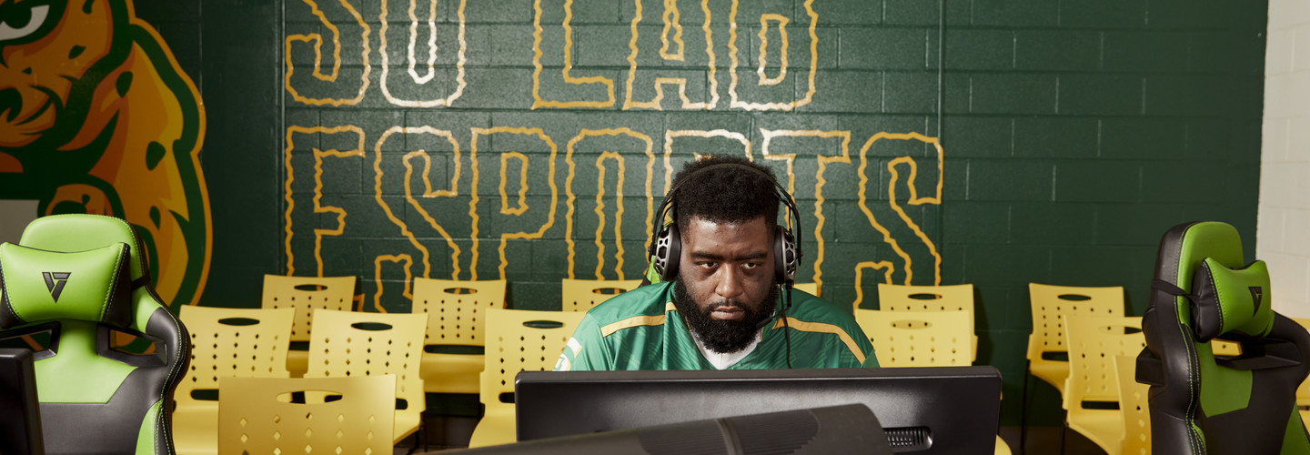 Christopher Turner helped Southern University build high school and university esports programs from the ground up.