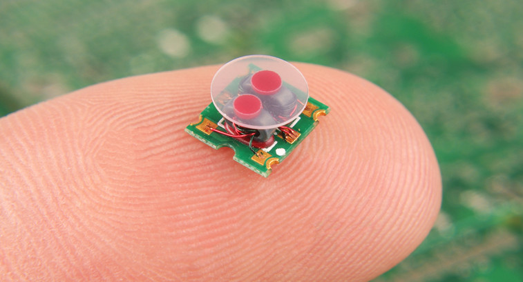 Sensor on a finger