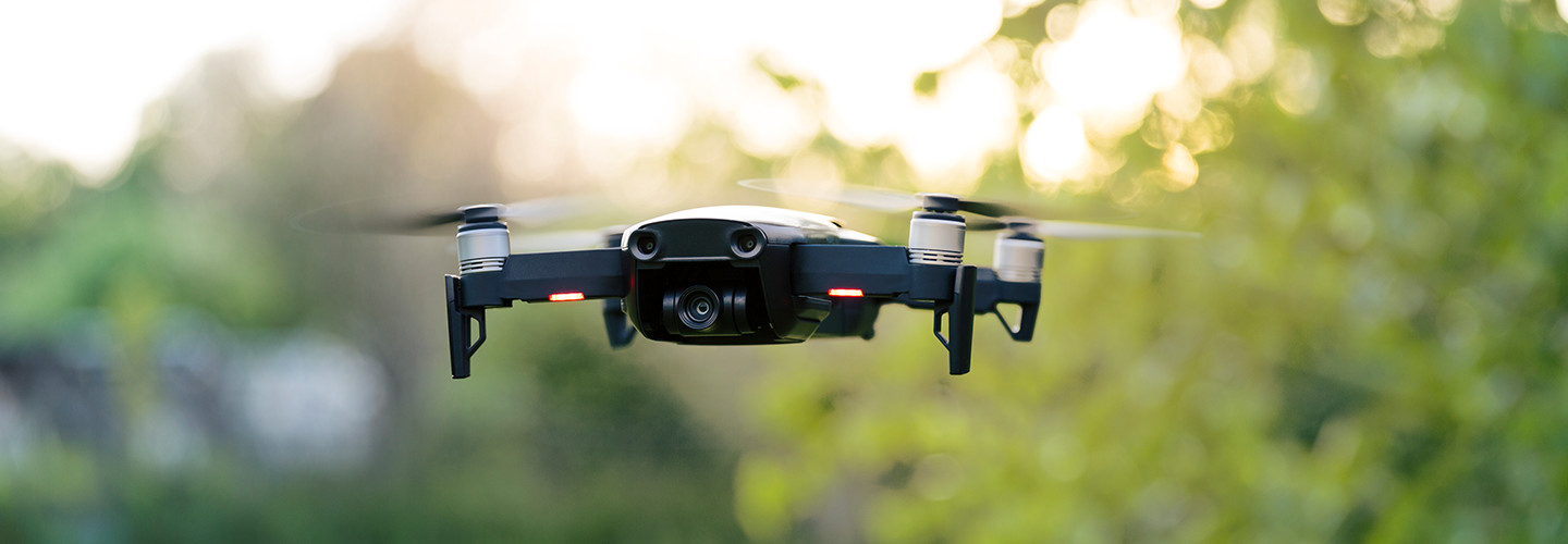Drones in the air