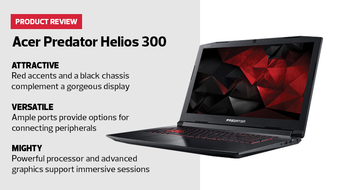 Acer Predator Helios 300 Product Review