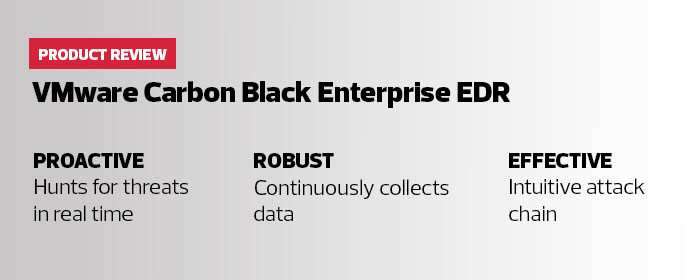 VMware Carbon Black Cloud Enterprise EDR Provides Powerful Threat Hunting and Incident Response