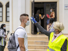 Want to Keep Campuses Safe from COVID-19? Protect the Eyes