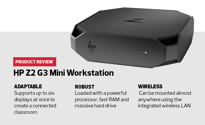 Review: HP Z2 Mini G3 Workstation Provides Form in Function