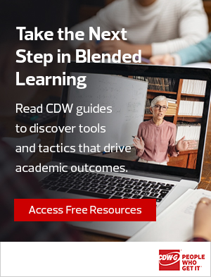 blended learning right rail