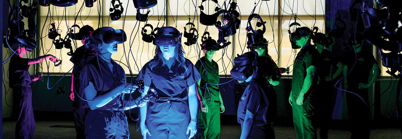 Colorado State University VR Headsets
