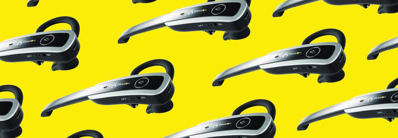 Nuance Dragon Wireless Headset