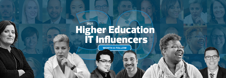 Higher Ed influencer list 2021