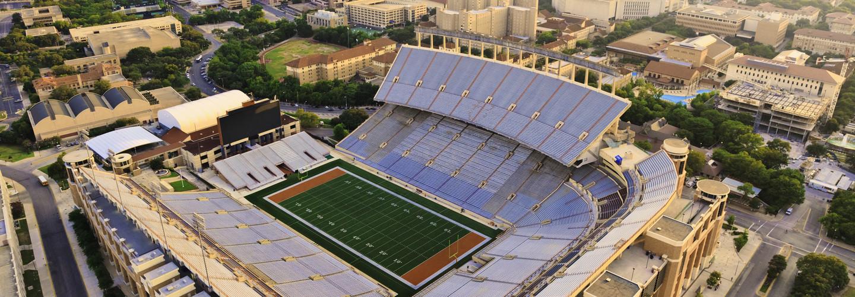sports stadium upgrade