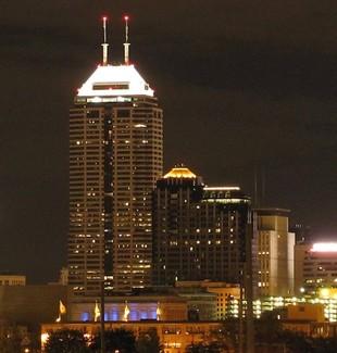 Indianapolis skyline EDUCAUSE 2015