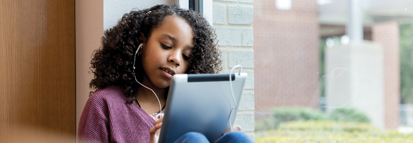 Education Infrastructure Supports Student Online Learning