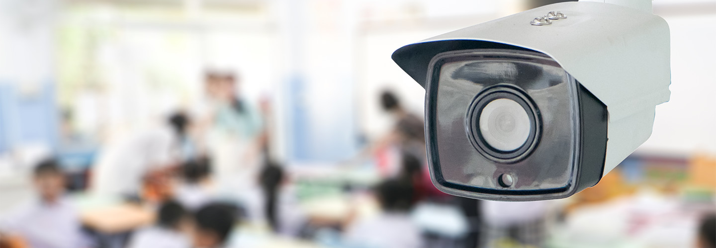 Camera in classroom