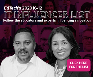 K-12 2020 Influencer List