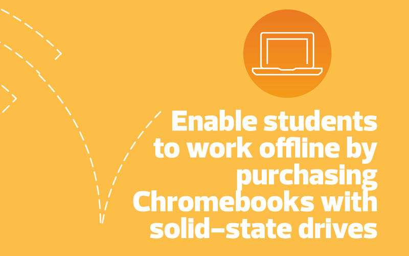 purchase Chromebooks with solid-state drives