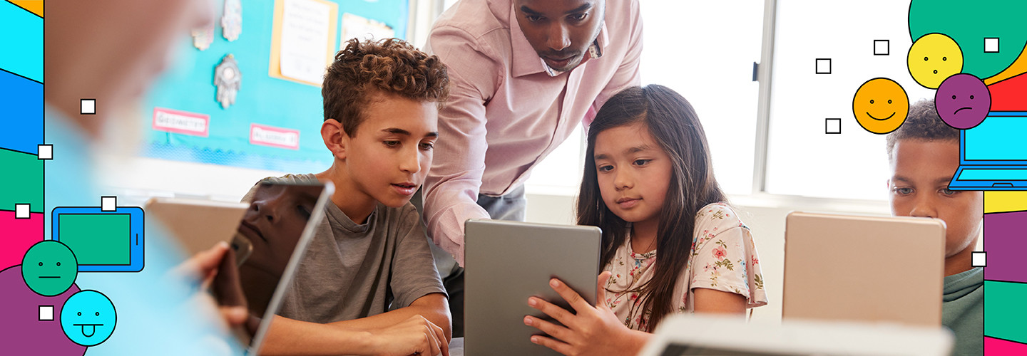 Student devices help support SEL in the classroom