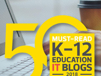 Ed Tech K-12 blogger list logo