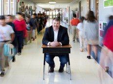 Jason Osborne, Chief Innovation Officer of Ector County (Texas) Independent School District, focuses on exposing all students to high-level sciences.