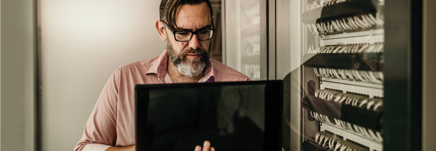 IT engineer with server security work