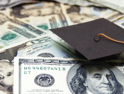 Graduation cap with money