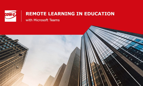 Remote Learning in Education with Microsoft Teams