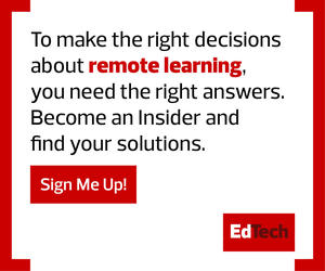 Sign up to be an EdTech insider!