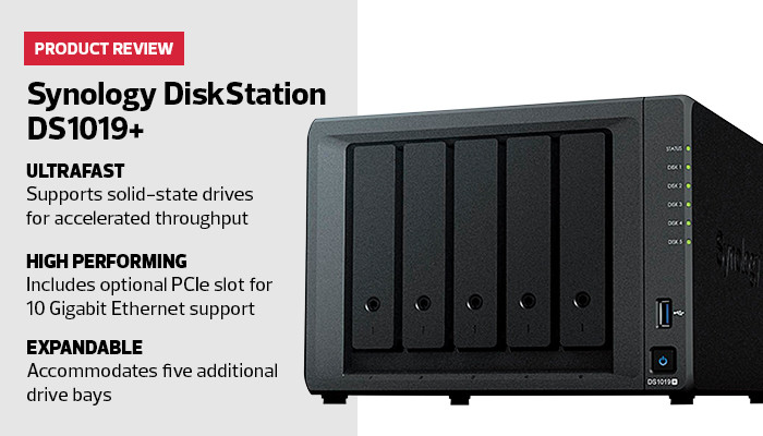 Synology DiskStation DS1019+