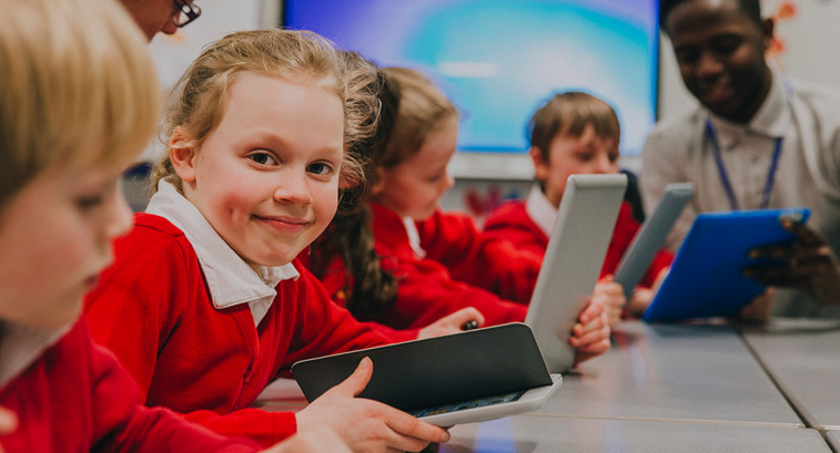 kids on 1:1 devices