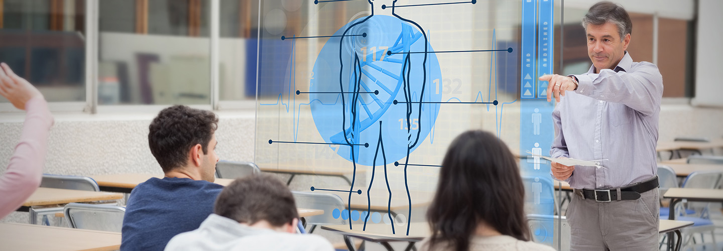 Holograms in classrooms
