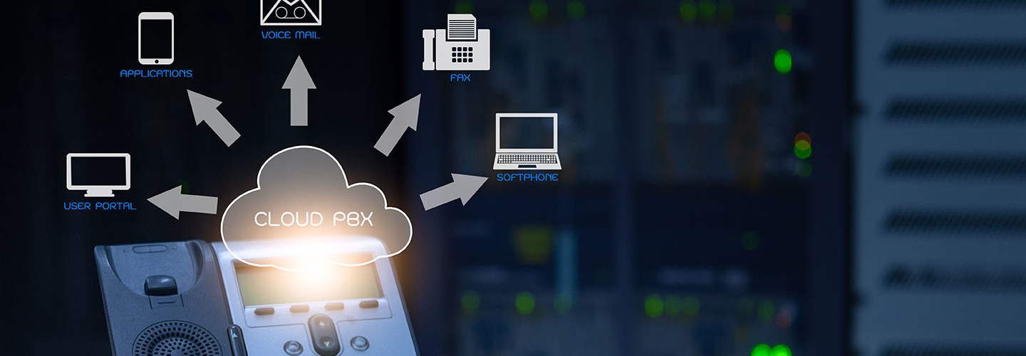 Cloud-based VoiP