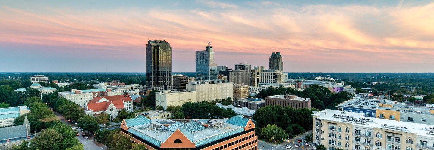 Capital of North Carolina where Governor opened digital equity office
