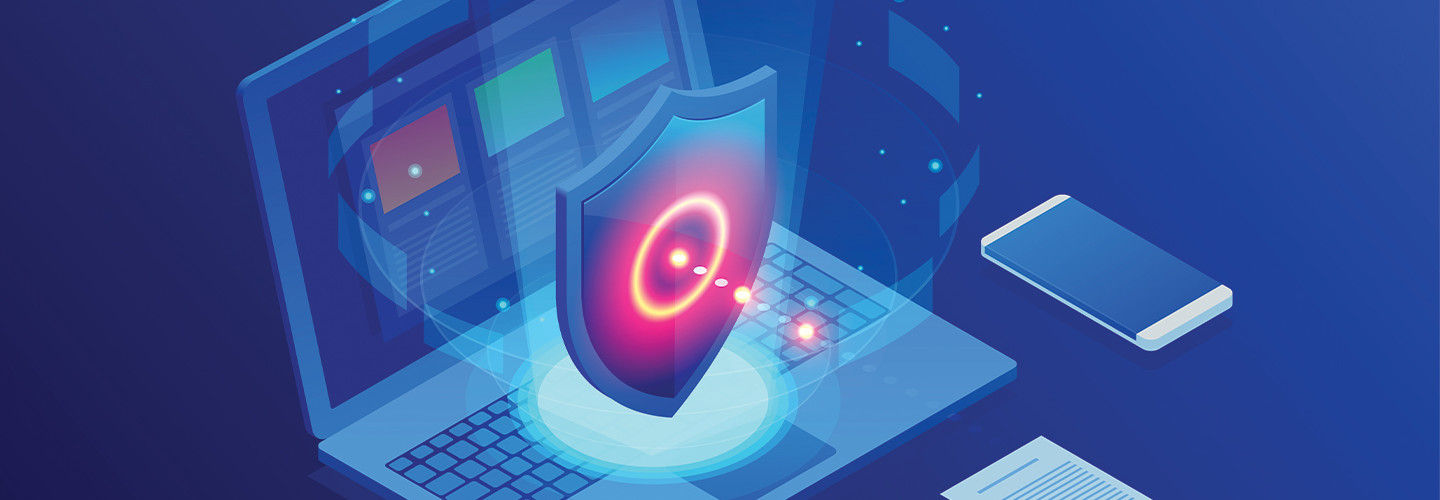cybersecurity concept image