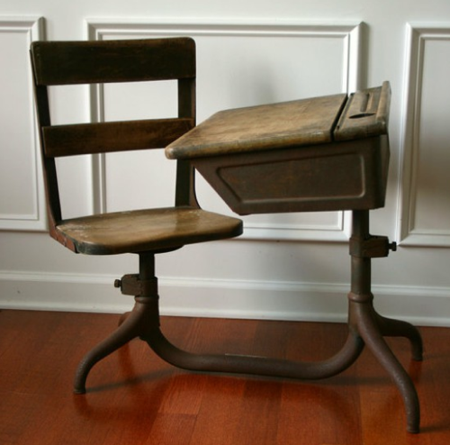 1930s The Adjule School Desk