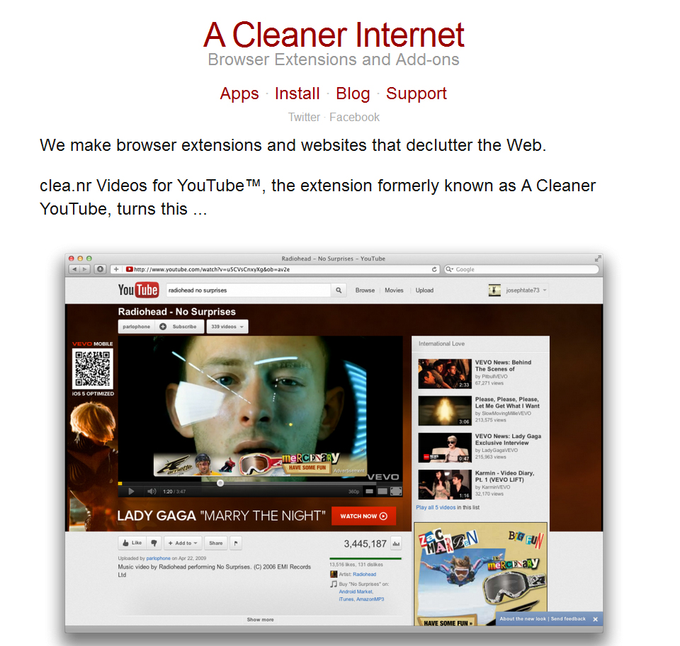 A Cleaner Internet