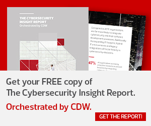 cdw cybersecurity report
