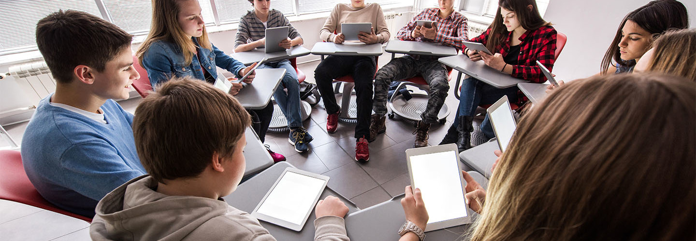 Modern day classroom