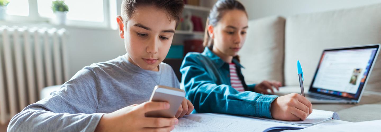 students learn digital citizenship