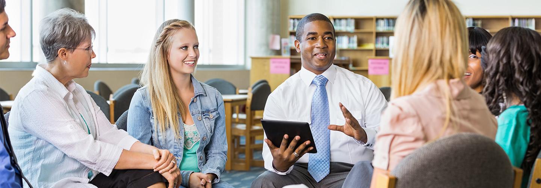 Parent teacher training on tech