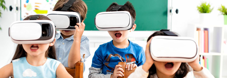 Kids on VR