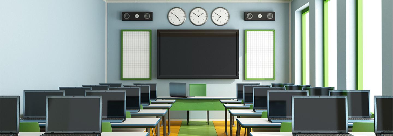 modern K–12 classroom