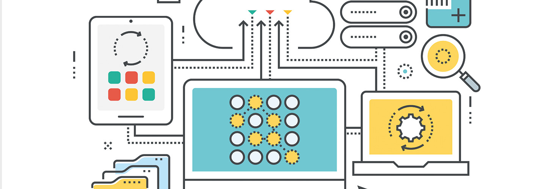 big data concept illustration