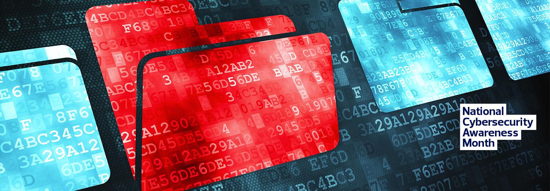 red corrupted digital folder