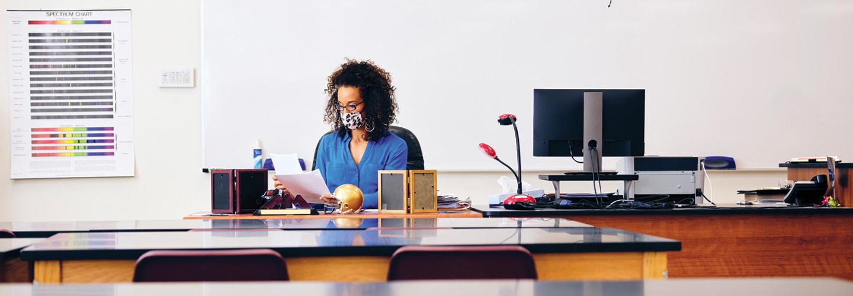 K–12 Teacher Post-Pandemic Classroom