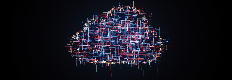 Cloud security illustration