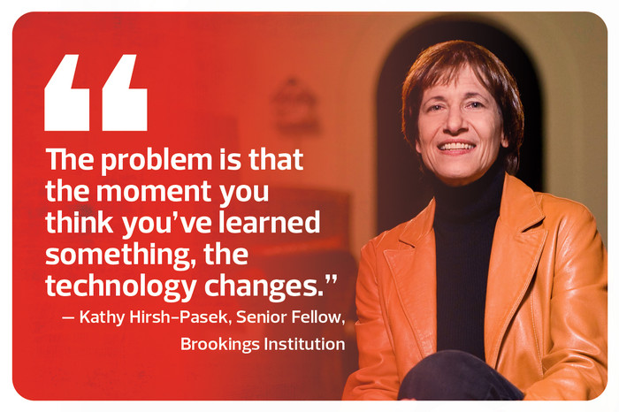Kathy Hirsh-Pasek, Senior Fellow, Brookings Institution