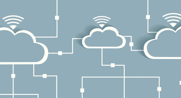 cloud computing concept art
