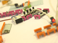 littleBits product demonstration at ISTE 2016