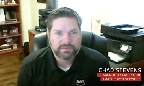 Chad Stevens, Leader, K–12 Education, Amazon Web Services