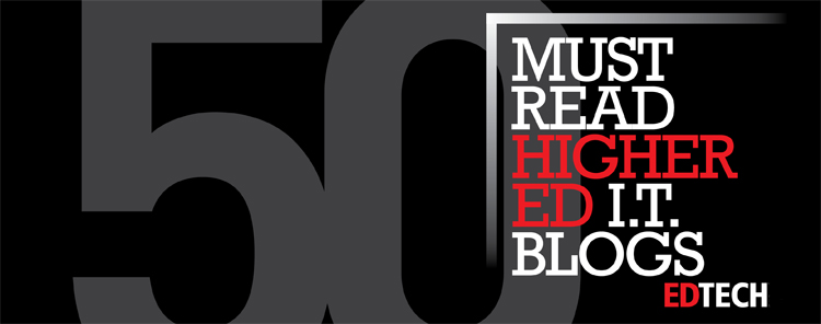 6d6b99f29739 The Dean s List  50 Must-Read Higher Education Technology Blogs ...