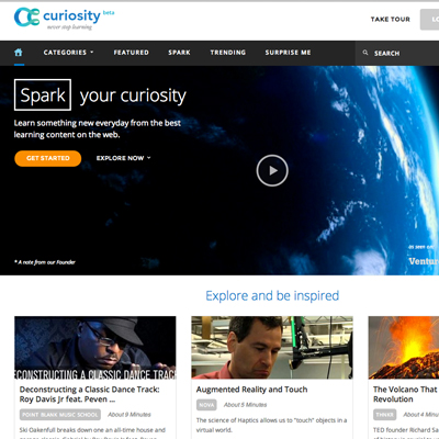 Discovery Launches Curiosity.com for Everyday Learning